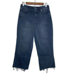 Wild Fable women's mom blue jeans gray 10 Hi Rise